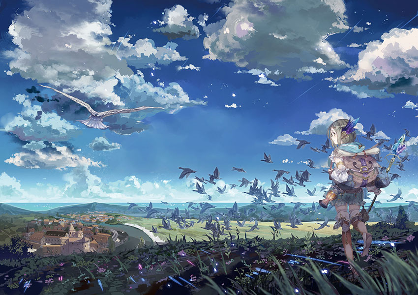 Atelier Firis: The Alchemist and the Mysterious Journey llegará a occidente en primavera