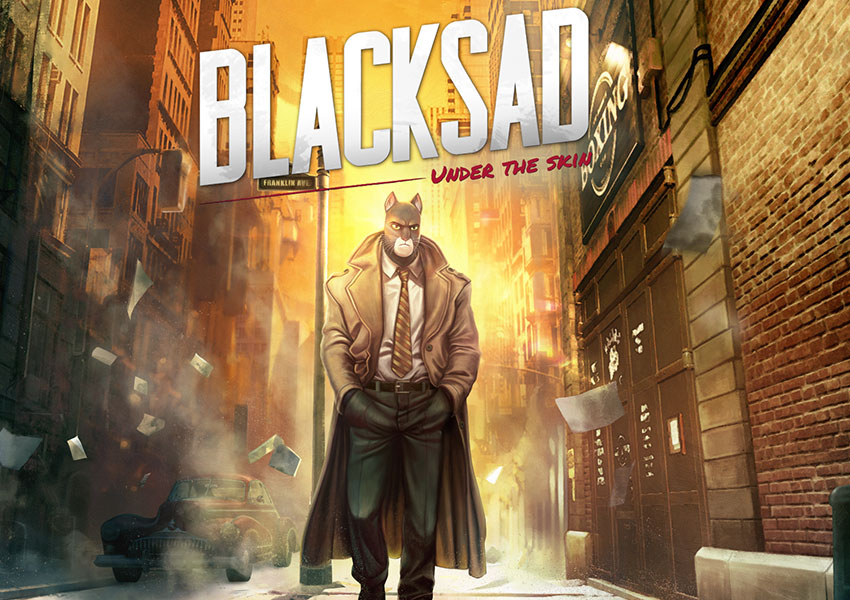 John Blacksad da el salto del cómic al videojuego con Blacksad: Under the Skin