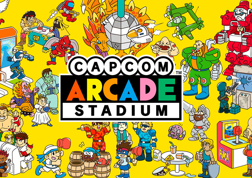 Capcom Arcade Stadium abre una sala de recreativos en Nintendo Switch