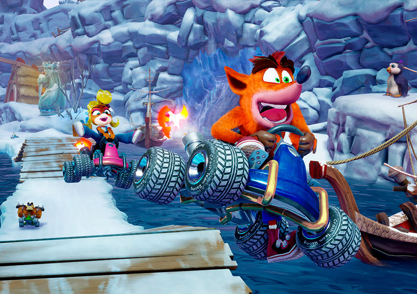 Crash regresa con Crash Team Racing Nitro-Fueled, la remasterización del clásico de velocidad
