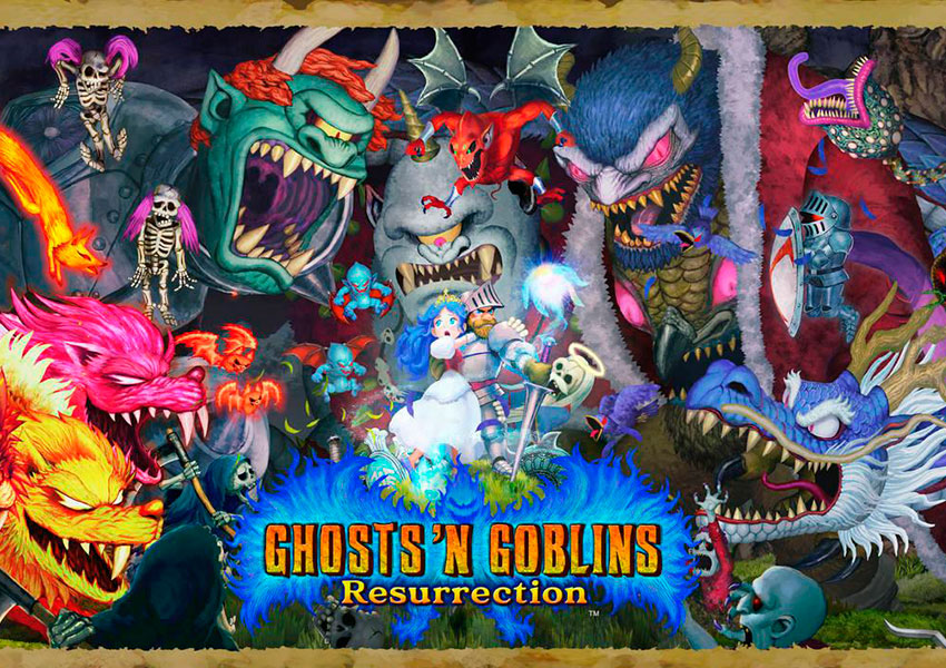 Anunciado el modo cooperativo local de Ghosts 'n Goblins Resurrection
