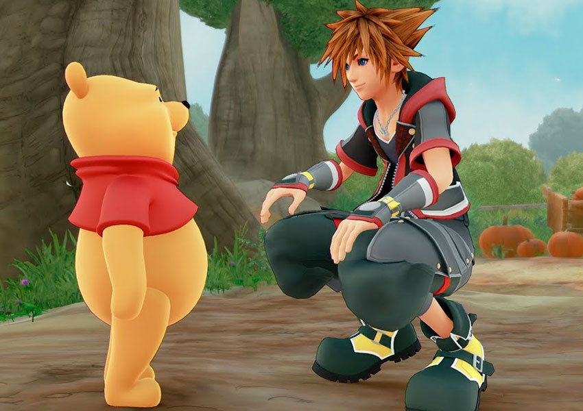 Winnie the Pooh censurado en la versión china de Kingdom Hearts 3
