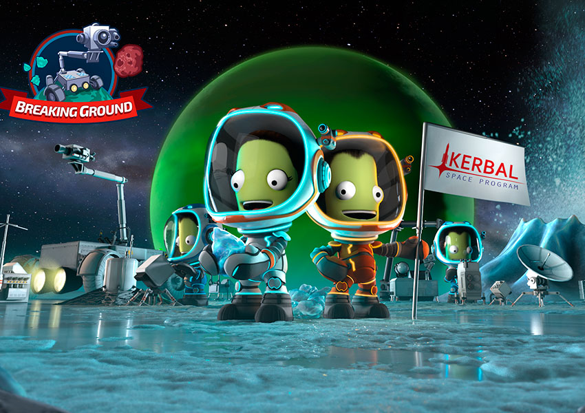 Kerbal Space Program Enhanced Edition recibe la expansión Breaking Ground Expansion
