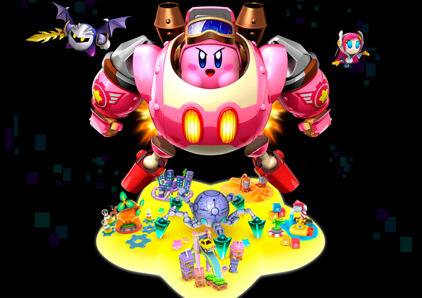 how to draw kirby planet robobot