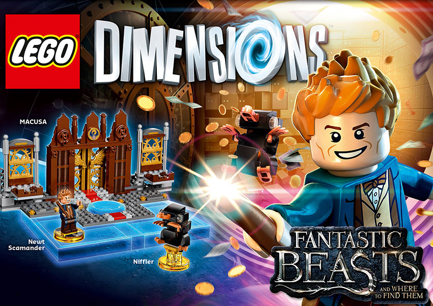 El Pack Animales Fantásticos y Dónde Encontrarlos ya disponible en LEGO Dimensions