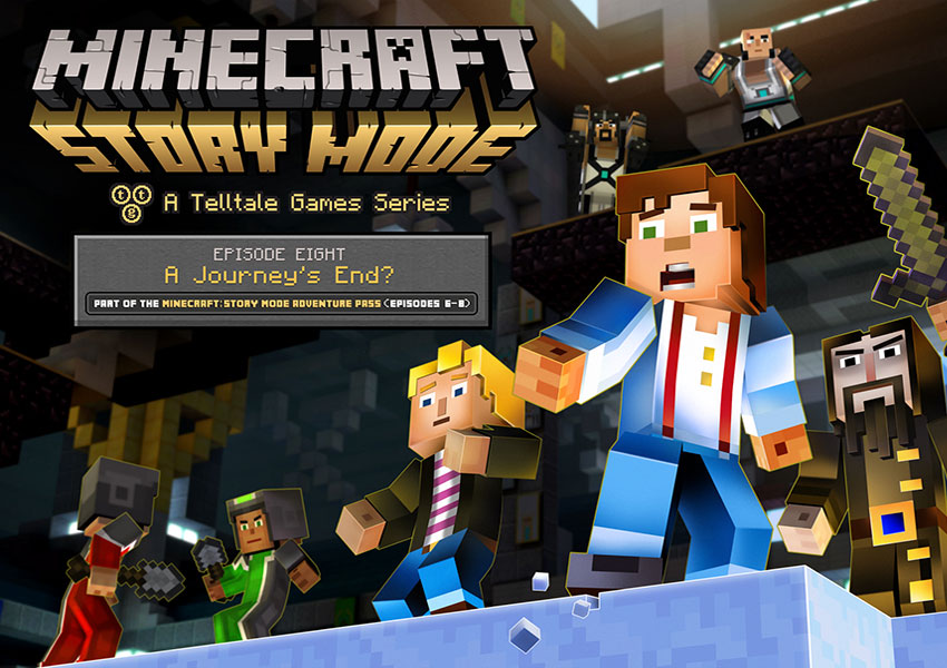 Ya disponible la edición física de Minecraft: Story Mode - The Complete Adventure