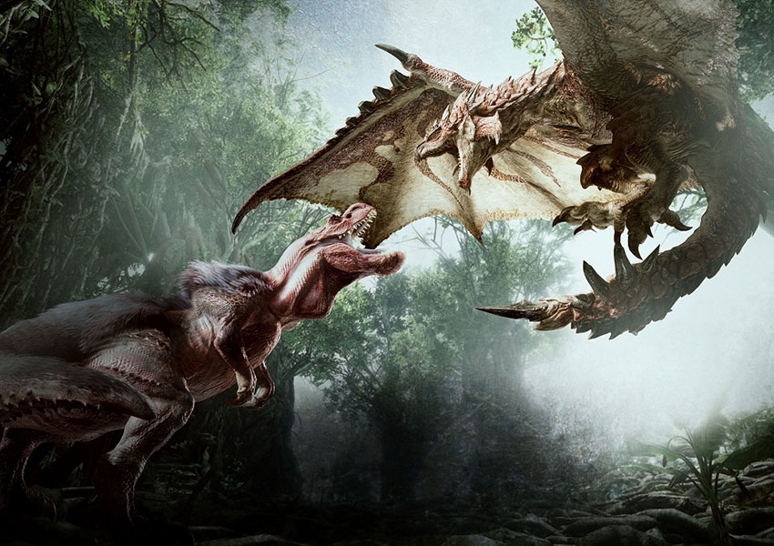 Monster Hunter World estrena nuevos videos donde muestra Rotten Vale y Coral Highlands