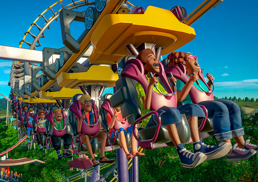 Planet Coaster pone fecha para la expansión Magnificent Rides Collection