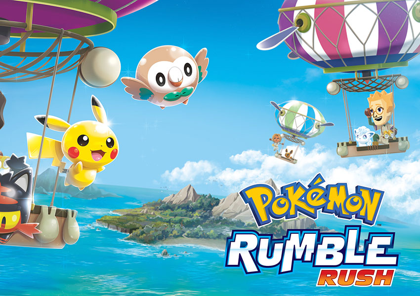 Pokémon Rumble Rush irrumpe en dispositivos Android y iOS