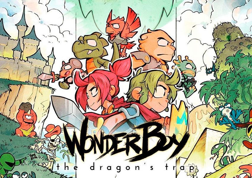 El clásico Wonder Boy: The Dragon's Trap ya está disponible para iOS y Android