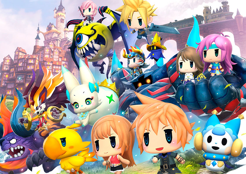 World of Final Fantasy estrena el tráiler de la Tokyo Game Show