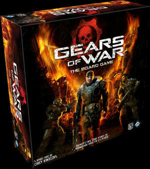 Anunciado un juego de mesa basado en gears of war for Gears of war juego de mesa