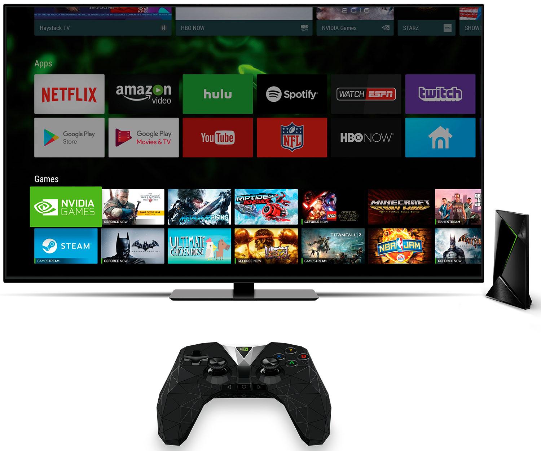 Nvidia Shield se actualiza con nuevas funciones y mejoras en su streamer