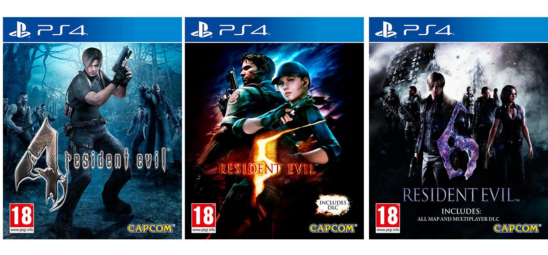 Confirmadas Las Versiones Fisicas De Resident Evil 4 5 Y 6 Para