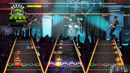 Se descubre parte del repertorio de temas de Guitar Hero: Greatest Hits