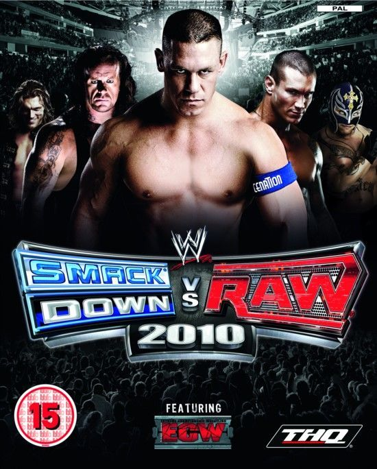 WWE SmackDown vs. Raw 2010 llegará a PlayStation 2