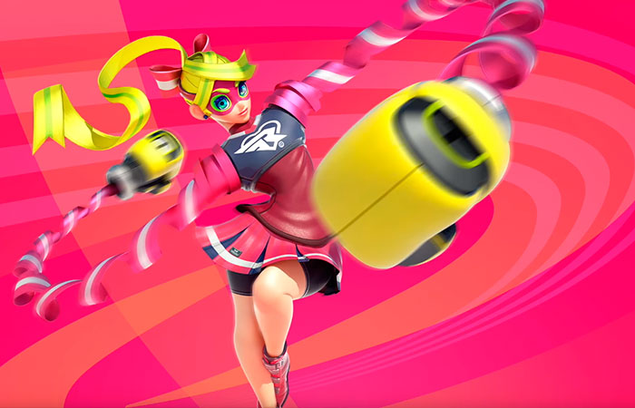 Arms Character Introduction - Nintendo Switch