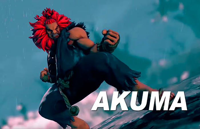 Street Fighter V: Akuma Reveal Trailer