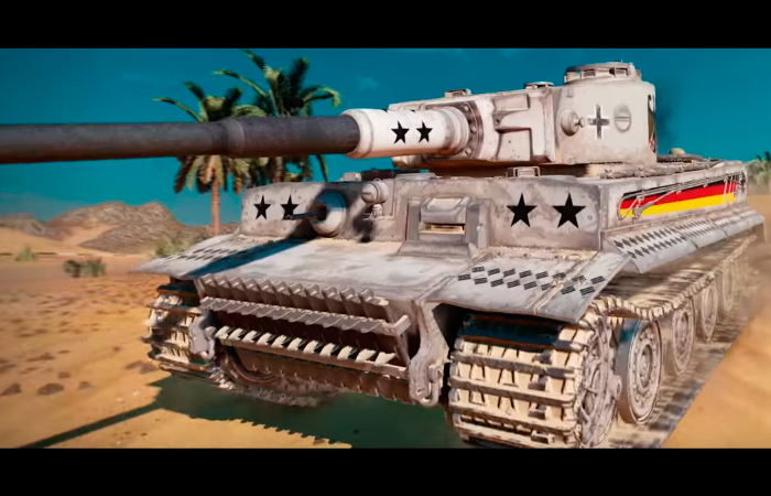 World of Tanks Console - Tiger Hammer Time